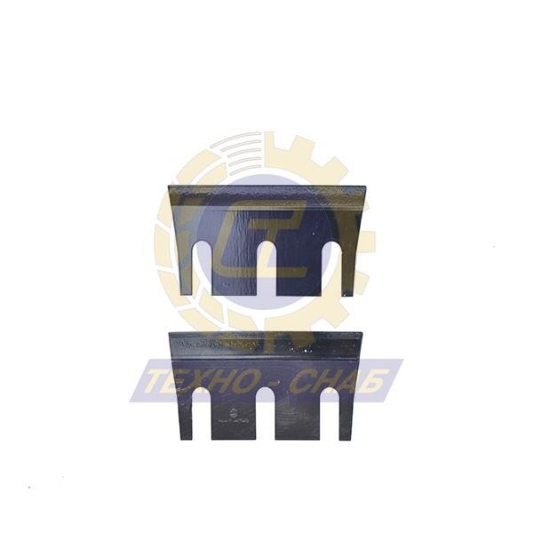 Нож измельчителя 172х96х7 30-0170-22-01-0 - Запасные части для зерноуборочной техники (Ножи на кормоуборочные комбайны)
