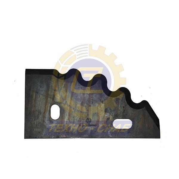 Нож кормосмесителя 30-0210-71-01-0 - Запасные части для кормоуборочной техники (Ножи на миксеры, кормосмесители)