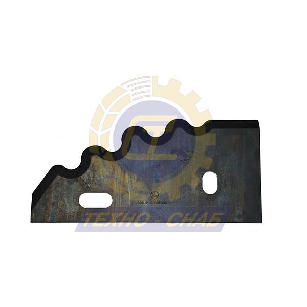 Нож кормосмесителя 30-0210-72-01-0 - Запасные части для кормоуборочной техники (Ножи на миксеры, кормосмесители)