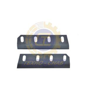 Нож с покрытием 30-0310-43-01-3 - Запасные части для зерноуборочной техники (Ножи на кормоуборочные комбайны)