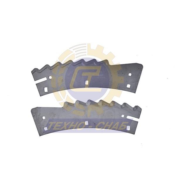 Нож (10 шт к-т) 30-0370-69-01-2 - Запасные части для кормоуборочной техники (Ножи на кукурузные жатки)