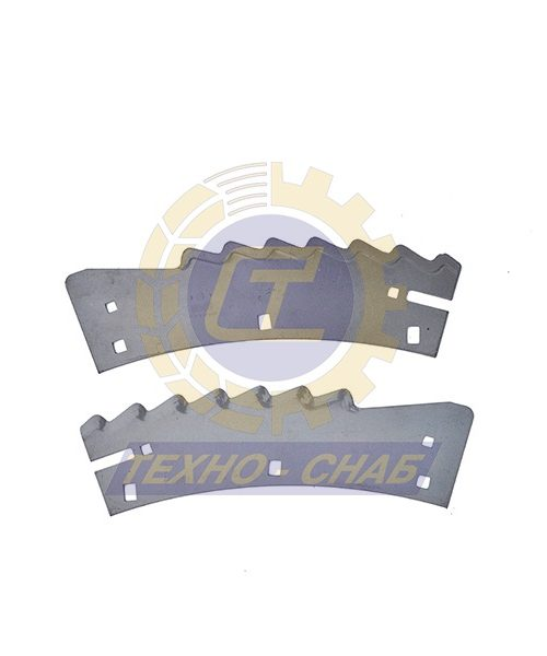 Нож (5 шт к-т) 30-0370-70-01-2 - Запасные части для кормоуборочной техники (Ножи на кукурузные жатки)