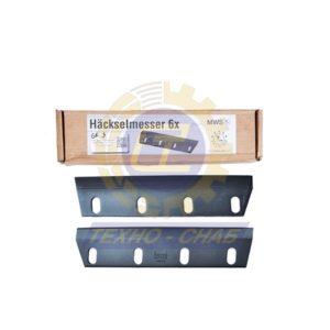 Нож с покрытием 30-0380-47-01-2 - Запасные части для зерноуборочной техники (Ножи на кормоуборочные комбайны)