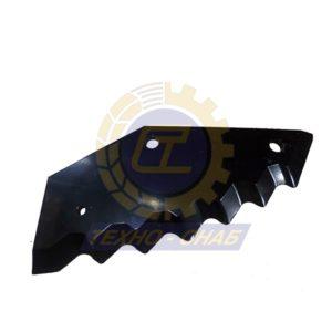 Нож кормосмесителя L=350 30-0405-64-01-2 - Запасные части для кормоуборочной техники (Ножи на миксеры, кормосмесители)