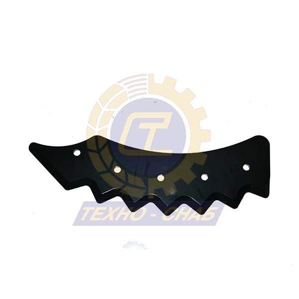 Нож кормосмесителя левый 30-0450-64-01-2 - Запасные части для кормоуборочной техники (Ножи на миксеры, кормосмесители)