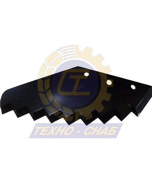 Нож кормосмесителя большой 30-0520-62-01-2 - Запасные части для кормоуборочной техники (Ножи на миксеры, кормосмесители)