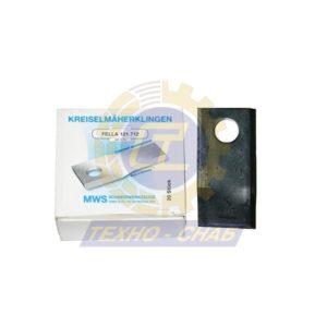 Нож дисковой косилки 60-0115-32-01-7 - Запасные части для кормоуборочной техники (Ножи на дисковые косилки)