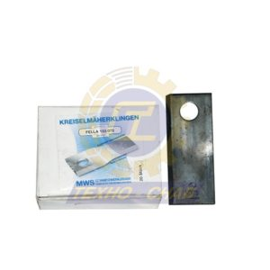 Нож дисковой косилки 60-0133-12-01-7 - Запасные части для кормоуборочной техники (Ножи на дисковые косилки)