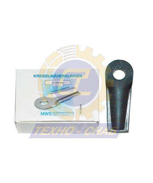Нож дисковой косилки 60-0132-12-01-7 - Запасные части для кормоуборочной техники (Ножи на дисковые косилки)