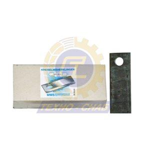 Нож дисковой косилки длинный (150х40х4 мм, d20,6) 60-0150-04-01-7 - Запасные части для кормоуборочной техники (Ножи на дисковые косилки)