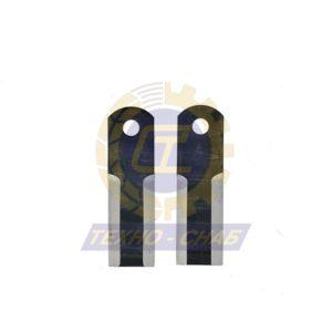 Нож измельчителя (173x50x5 мм) Ø18 60-0170-03-01-0 - Запасные части для зерноуборочной техники (Ножи, пальцы и сегменты для зерноуборочных комбайнов)
