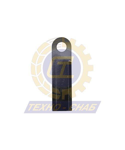 Нож жатки со втулкой (225x60x6) 60-0220-01-01-2 - Запасные части для зерноуборочной техники (Ножи, пальцы и сегменты для зерноуборочных комбайнов)