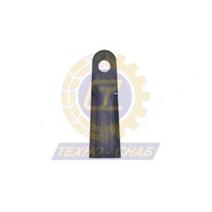 Нож измельчителя с покрытием (232x70x6 мм) Ø25 60-0230-02-01-0 - Запасные части для зерноуборочной техники (Ножи, пальцы и сегменты для зерноуборочных комбайнов)