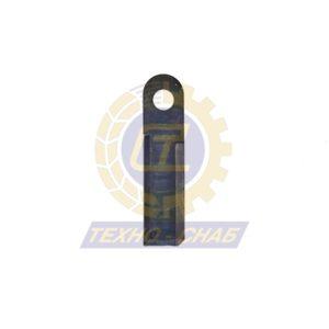 Нож активный (173х50х4 мм) Ø20 60-0170-08-01-0 - Запасные части для зерноуборочной техники (Ножи, пальцы и сегменты для зерноуборочных комбайнов)