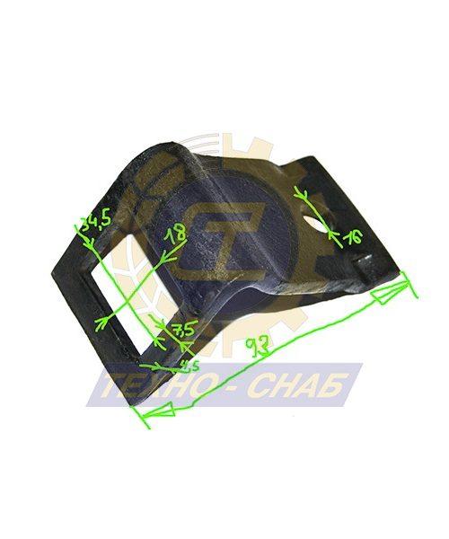 Держатель упругой стойки S-образной Н=25 мм 550070 - Запасные части для почвообрабатывающей техники (Применяются для предпосевного культиватора EUROPACK)