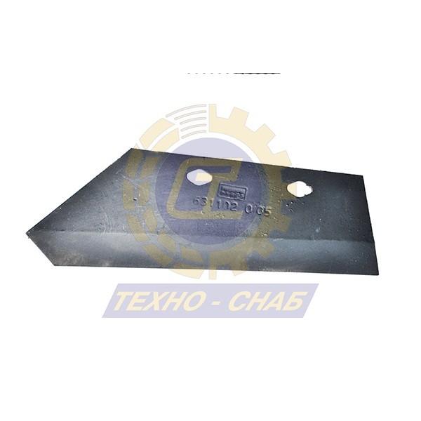 Лемех предплужника CK300001 - Запасные части для почвообрабатывающей техники (Применяются на плугах KUHN)