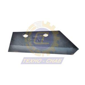 Лемех предплужника CK300002 - Запасные части для почвообрабатывающей техники (Применяются на плугах KUHN)