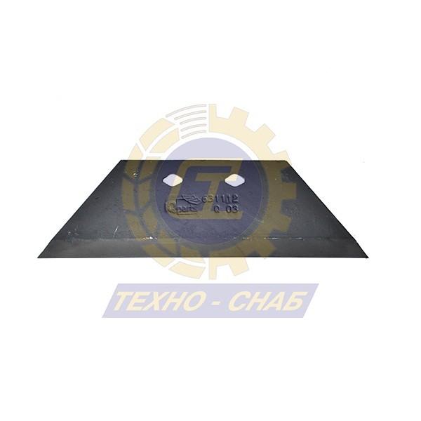 Лемех предплужника оборотный CK300081B - Запасные части для почвообрабатывающей техники (Применяются на плугах KUHN)