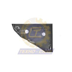 Клин полевой доски CK300078 - Запасные части для почвообрабатывающей техники (Применяются на плугах KUHN)