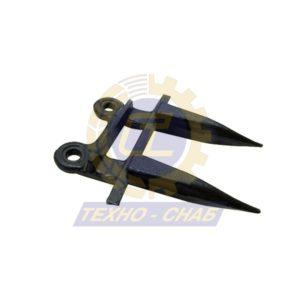 Палец 80-4-0610 - Запасные части для зерноуборочной техники (Ножи, пальцы и сегменты для зерноуборочных комбайнов)
