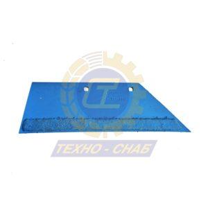 Лемех на 2 отв. с наплавкой CL100078H - Запасные части для почвообрабатывающей техники (Применяются на плугах Lemken)