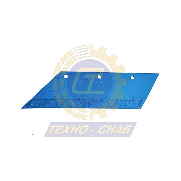 Лемех на 3 отв. с наплавкой CL100097H - Запасные части для почвообрабатывающей техники (Применяются на плугах Lemken)