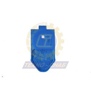 Долото с наплавкой (10 мм) CL100131H - Запасные части для почвообрабатывающей техники (Применяются на культиваторах Smaragd (КНК, КСУ (Грязинский), Karat, Kristall, Kompaktor))