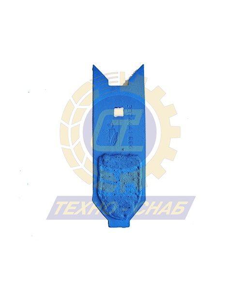 Долото с наплавкой (80x15 мм) CL100198H - Запасные части для почвообрабатывающей техники (Применяются на культиваторах Smaragd (КНК, КСУ (Грязинский), Karat, Kristall, Kompaktor))