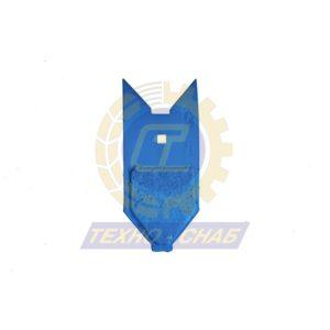 Долото с наплавкой (120x12 мм) CL100199H - Запасные части для почвообрабатывающей техники (Применяются на культиваторах Smaragd (КНК, КСУ (Грязинский), Karat, Kristall, Kompaktor))