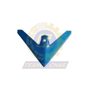 Стрельчатая лапа (280х5 мм) CL100228 - Запасные части для почвообрабатывающей техники (Применяются на культиваторах Smaragd (КНК, КСУ (Грязинский), Karat, Kristall, Kompaktor))