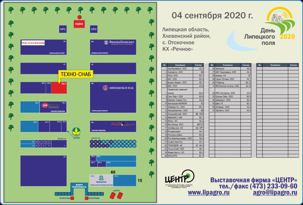 День поля в Липецке 2020