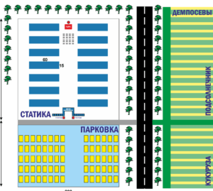схема ярмарки в Липецке